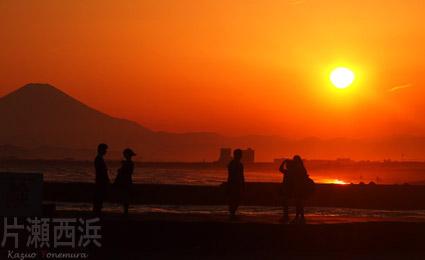04/27 片瀬西浜にて