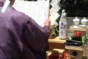 四街道の焼き杉の家.地鎮祭 5/18