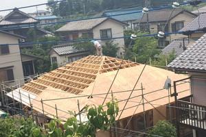 千葉県四街道市の焼杉の家-
