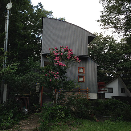 那須の八溝杉(やみぞすぎ)でつくった家