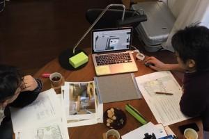 米村和夫建築アトリエにてミーティング